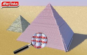 Piramide di birre