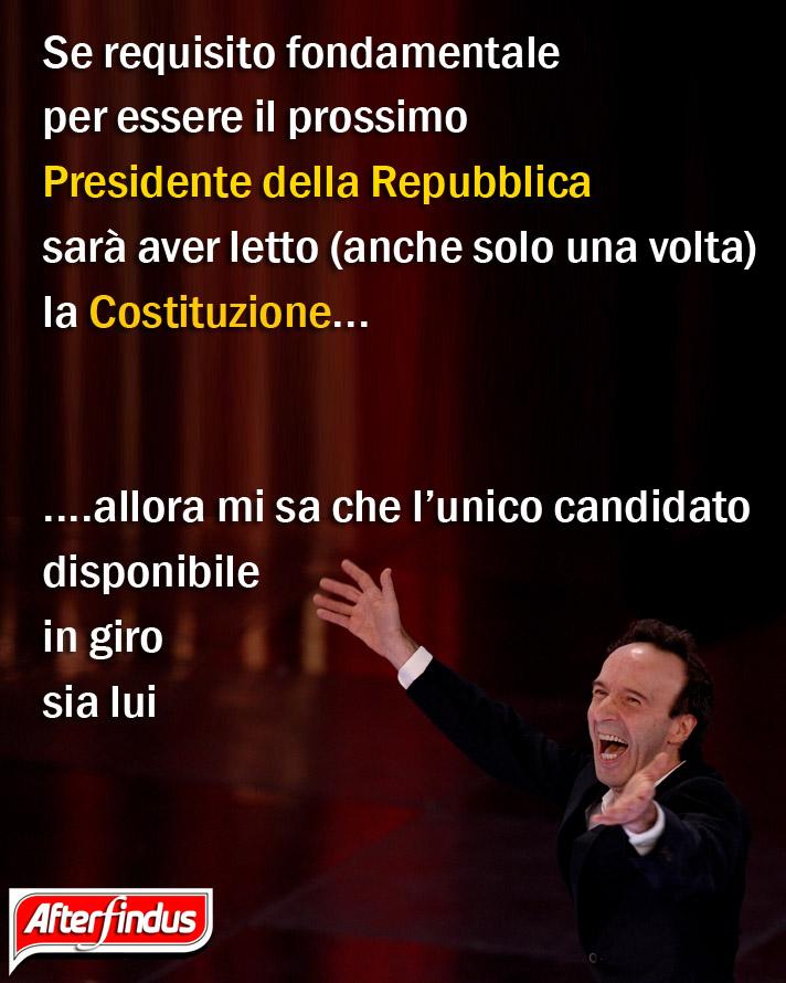 Roberto for President